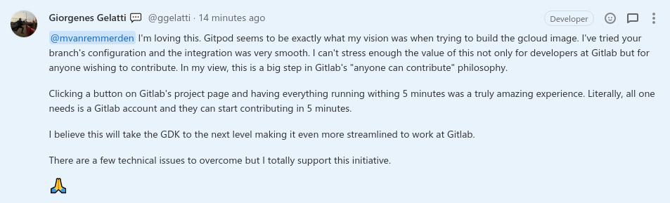 GitLab integration quote